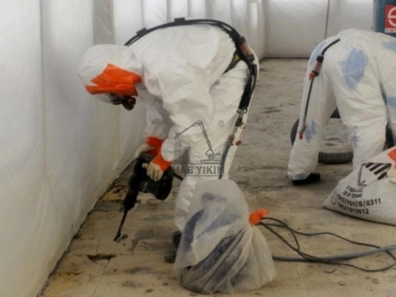 Asbest Bertaraf Firmaları ve Asbest Bertaraf İşlerinde Profesyonel Ortağınız. MAB Destroy İnşaat Yıkım Hizmetleri.