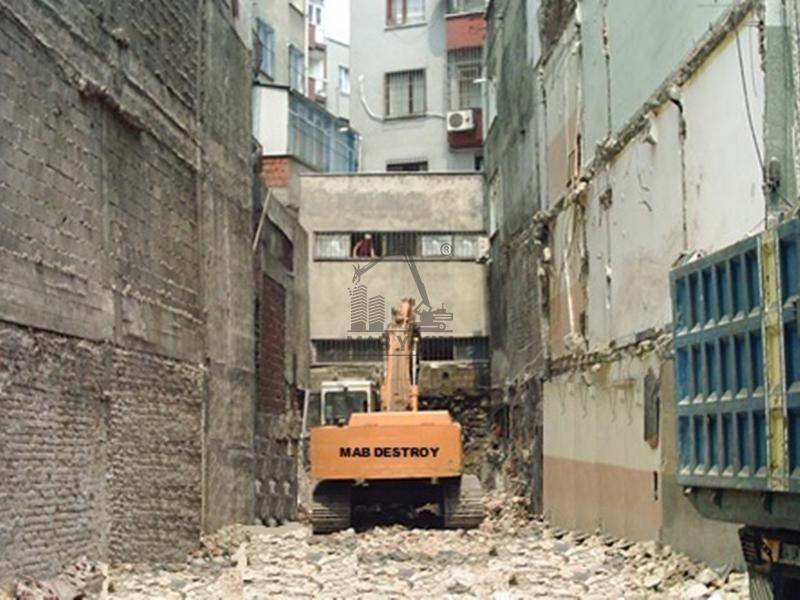 El Aletleriyle İle Profesyonel Yapı Yıkım Projeleri, Yıkım Şirketleri İstanbul