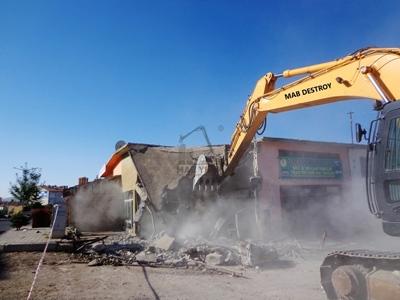 Boğazlıyan Sanayi Sitesi Yıkım Projesi