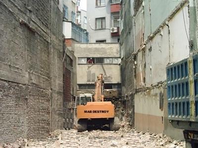 İstanbul Çeliktepe Yıkım Projesi