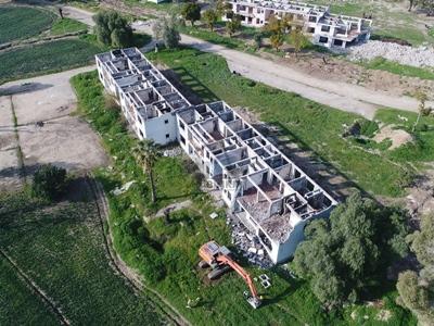 Mersin Metruk Yapıların Yıkım Projesi