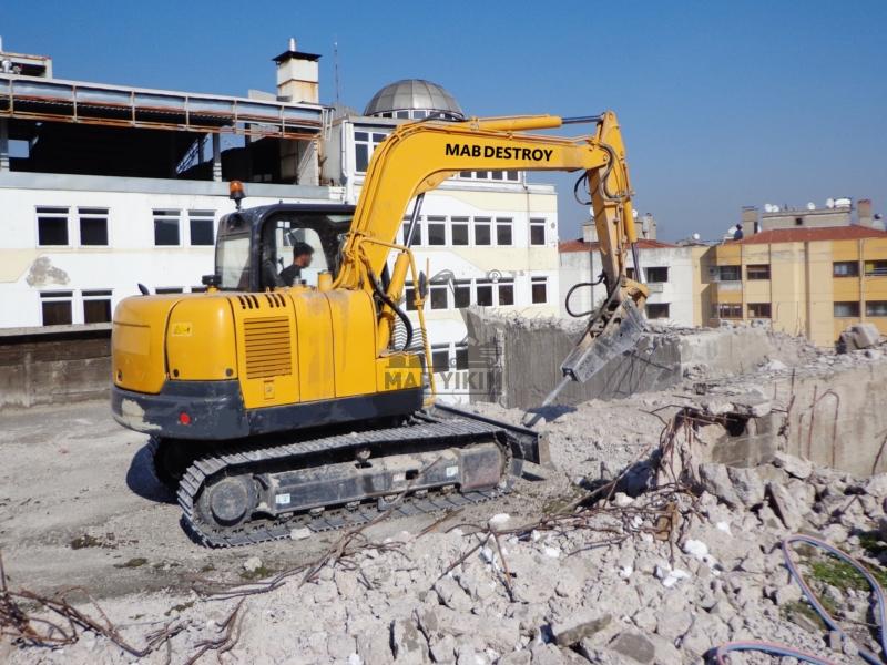 Mini Makineli Yıkım, Mini İş Makineleri İle Yıkım Hizmetleri İstanbul